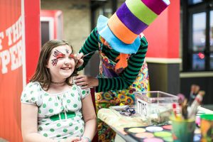 Kids Party Face Painting in Indianapolis
